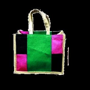 colored jute bags